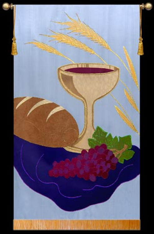 Communion Chalice with Wheat