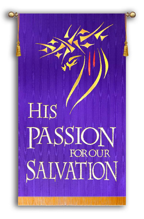 His Passion for our Salvation on Purple