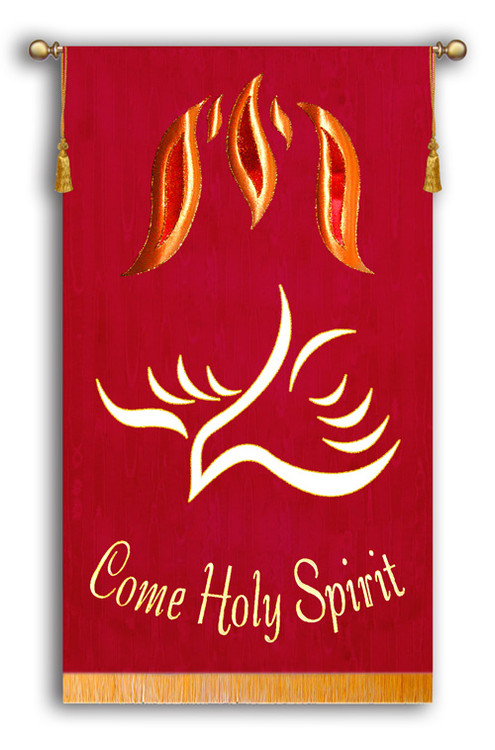 Come Holy Spirit Top Flames and 2016 Dove