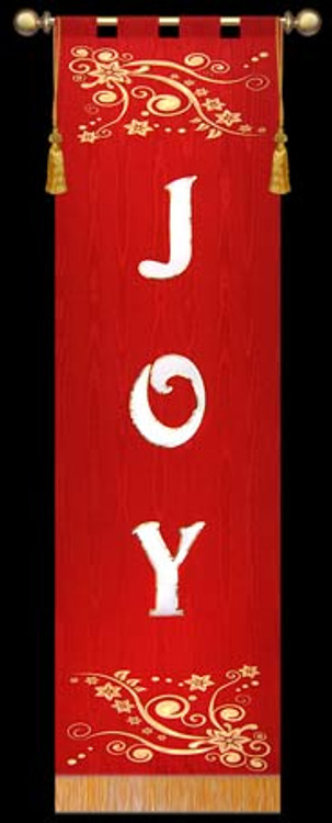 JOY - Advent Red