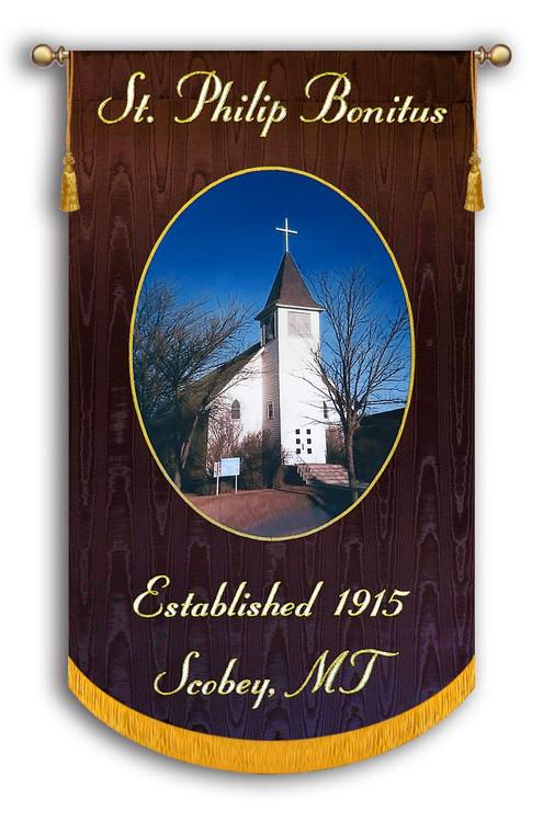 Example - St. Philip Bonitas - Customized Photo Banner