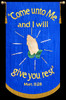 Come unto Me and I will give you rest - Matt. 11:28 - with Rays