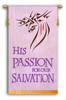 "SALE BANNER - His Passion - 4' x 30"""