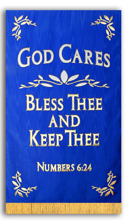 God Cares Chapel Banner