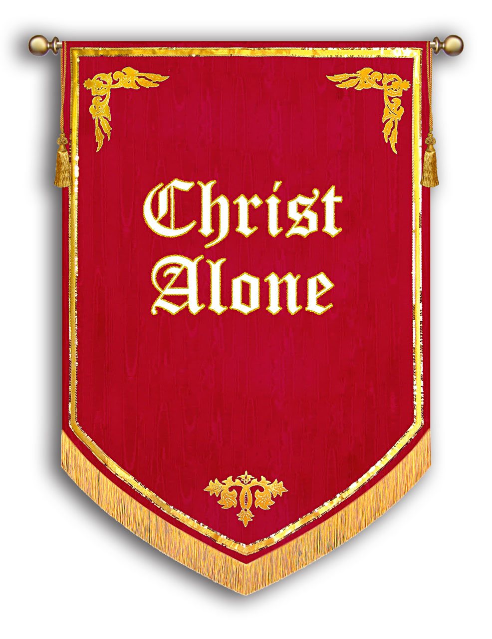 Christ Alone Banner - Reformation 500