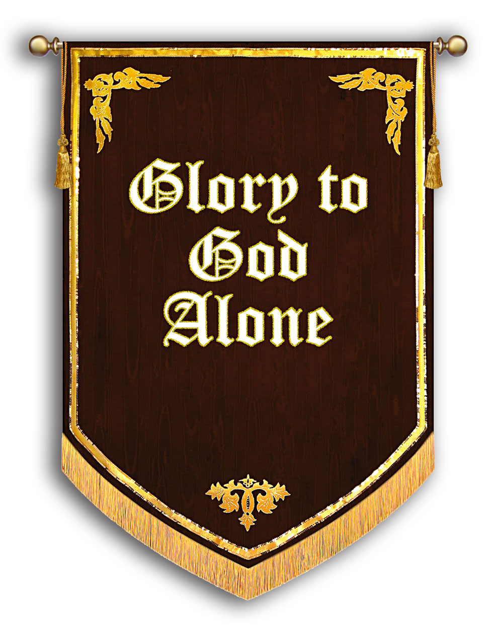 Glory to God ALone Banner - Reformation 500