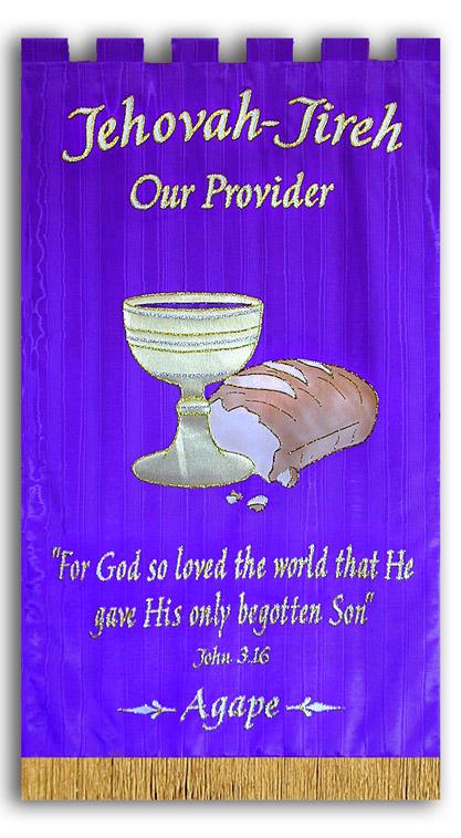 Agape, Jehovah Jireh, Provider, Communion