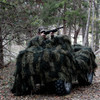 Red Rock Outdoors Woodland Camouflage Ghillie Blanket  5 x 12 70935