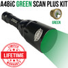 Wicked Lights A48iC GREEN Scan Plus Night Hunting Light Kit thumbnail