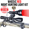 Wicked Lights W403iC Red Night Hunting Light Kit thumbnail