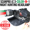 Wicked Lights ScanPro iC 3-N-1 Night Hunting Headlamp thumbnail