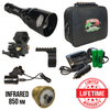 Wicked Lights A48iR Infrared Night Hunting Light Kit contents 2