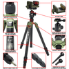 REKON CT-1 Carbon Fiber Tripod with BH-1 Ball head, RTA1 Picatinny to Arca-Swiss Mount, and HOG Saddle Mount