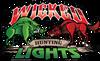 "Wicked Hunting Lights 41"" x  26"" Logo Vinyl Dealer / Event Banner"