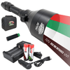 Wicked Lights® A75iC 4-Color-N-1 (Red, 850nm Infrared (IR) , Green White) Scan Plus Kit For Night Hunting Coyote, Foxes, Hogs