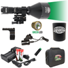 Wicked Lights® W404iC GREEN Night Hunting Kit for Coyote, Hog, Predator