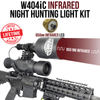 Wicked Lights® W404iC 850nm Infrared (IR) Night Hunting Kit for Coyote, Hog, Predator