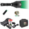 Wicked Lights® W404iC GREEN Scan Plus Night Hunting Light Kit for Hog, Coyote, and Predators