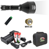 Wicked Lights® W404iC White Scan Plus Night Hunting Light Kit for hog, coyote, and predators