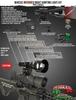 Wicked Lights® W403iC INFRARED Night Hunting Light Kit for coyote, hog, fox, predator, varmints