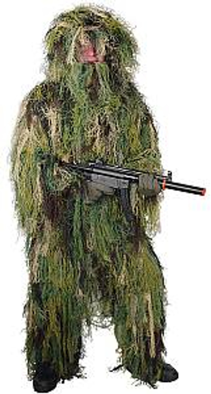 1d49e605c9ed8 Red Rock Outdoors Ghillie Suit Woodland Camo 70915 ...
