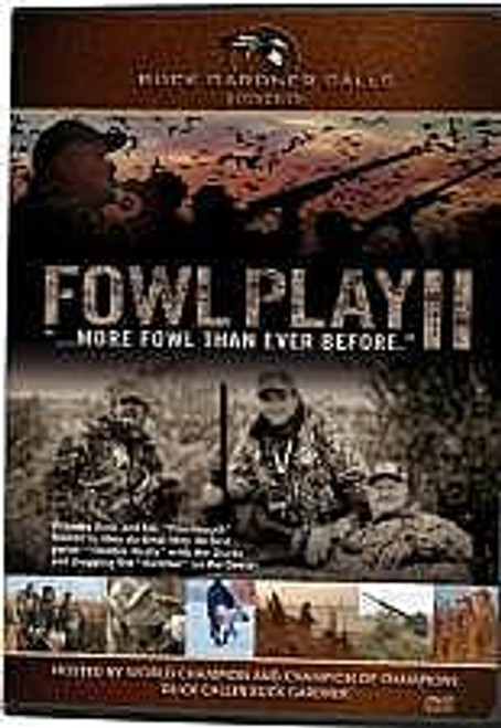 Buck Gardner Fowl Play II DVD FP2DVD