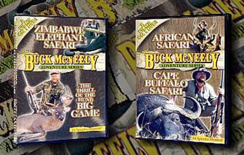 Buck McNeely African Safari Value Pack DVD BMPack