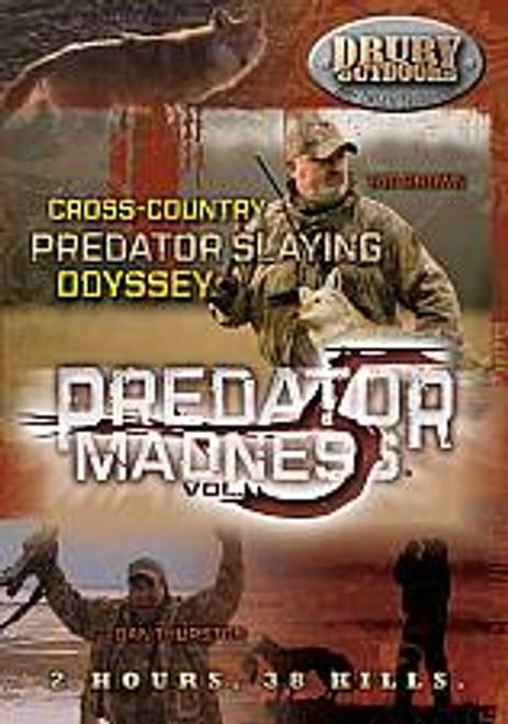 Drury Outdoors Predator Madness 5 DVD