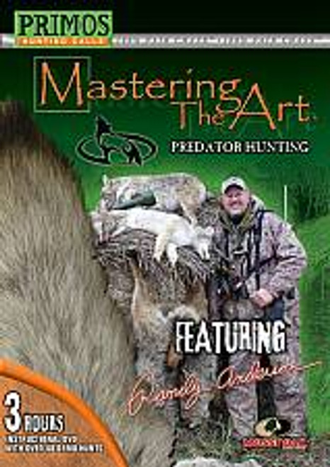 Primos Randy Anderson Mastering The Art Predator Hunting Instructional DVD 44112