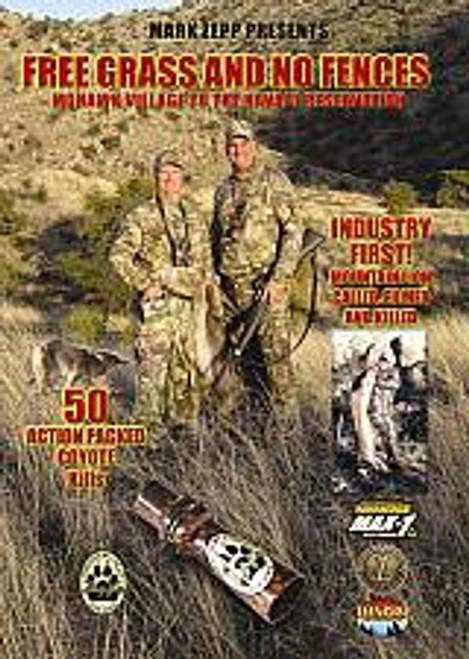 Zepps Predator Calls Free Grass and No Fences DVD