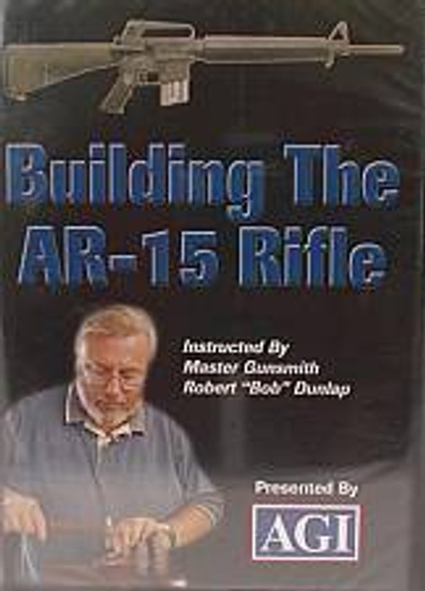 AGI American Gunsmithing Institute Building The AR15 Rifle DVD 323