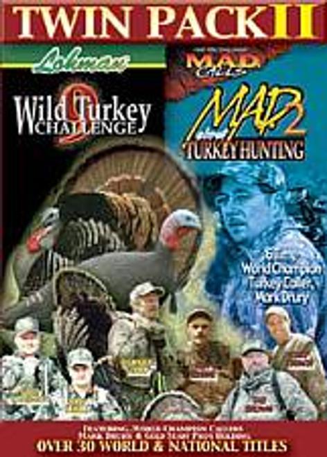 Lohman Wild Turkey Challenge 9 MAD About Turkey Hunting 2 DVD 860