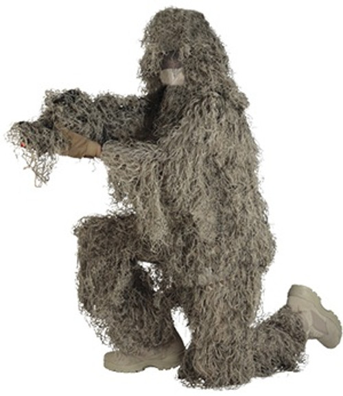 Red Rock Outdoors YOUTH Size Ghillie Suit Desert and Grassland Camo 70916YL