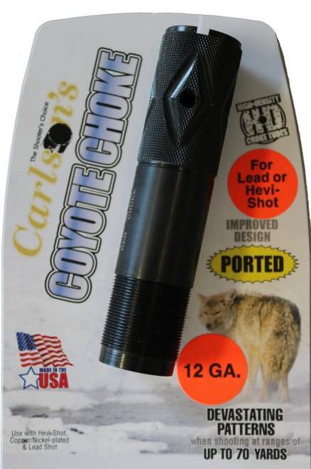 Carlsons Coyote Ported Choke Tube Standard Beretta Benelli Style Threads  30042