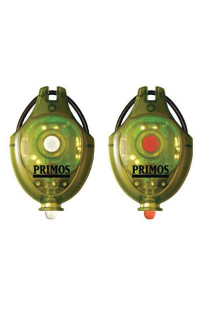 Primos  Mini Cap Light 2-Pack White & Green LED 62511
