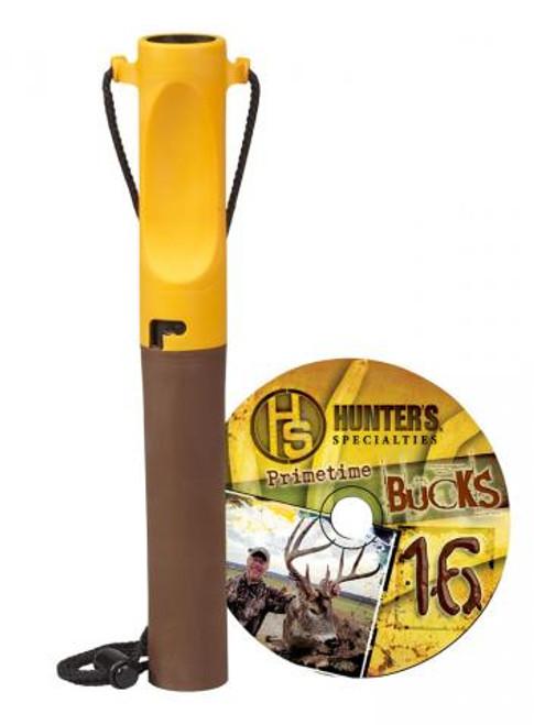 Hunters Specialties The True Talker Legacy Whitetail Deer Call with Primetime Bucks 16 DVD 00164