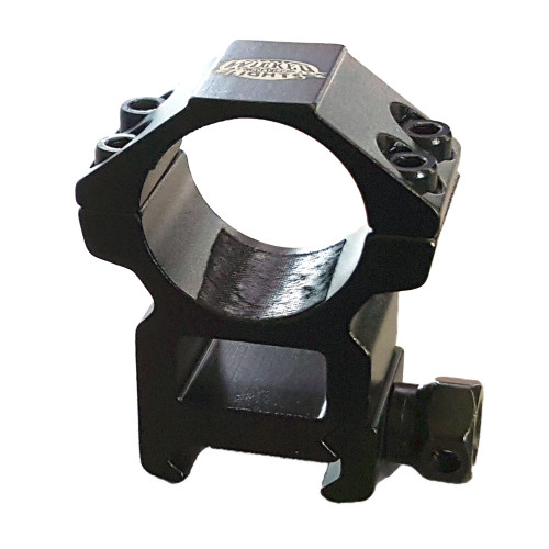 Wicked Lights - 1 Inch Diameter Light Mount (High) for  Mounting on Picatinny Rail Mount