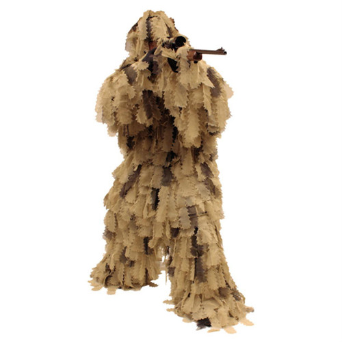 Red Rock Outdoors Big Game Leaf Cut Design Ghillie Suit Open Country Camo 70966 D