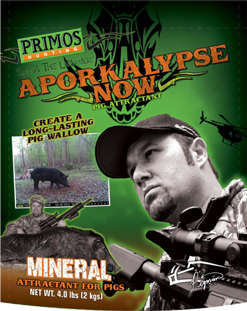Primos Aporkalypse Now Mineral Pig Attractant 4 Pound Bag 58901