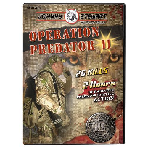 Hunters Specialties Johnny Stewart Operation Predator 11  DVD 20014