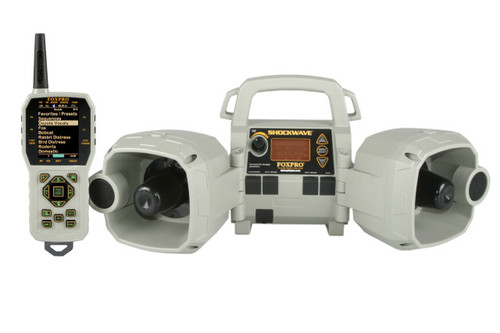 FOXPRO Shockwave Digital Caller with 100 Calls & TX-1000 remote with 100 custom sounds SW1 FIELD DEMO/OP Special
