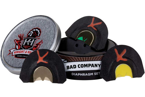 Knight and Hale Bad Company 3 Pack Turkey Diaphragm Set KHT3007