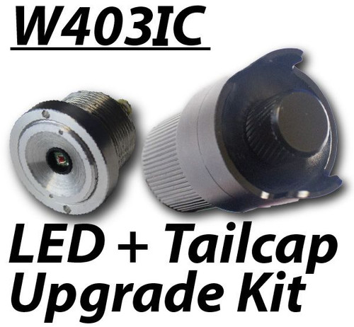 Wicked Lights W402ZF Intensity Control LED & Tailcap Upgrade Kit to W403-IC Configuration