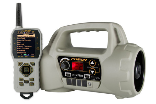 FOXPRO Fusion with 100 Custom Sounds in Tan / Standard color with TX1000 Remote Control