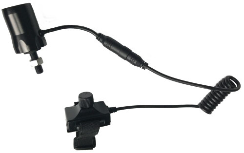 Wicked Lights INTENSITY CONTROL BOW Mount Coil Cord Switch Tail Cap For Use with Model A48 / A67 / W403 ONLY