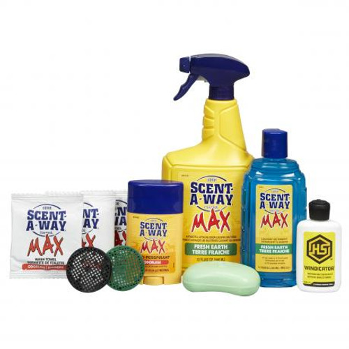 Hunters Specialties Scent-A-Way® MAX FRESH EARTH 10-Piece Kit 07737