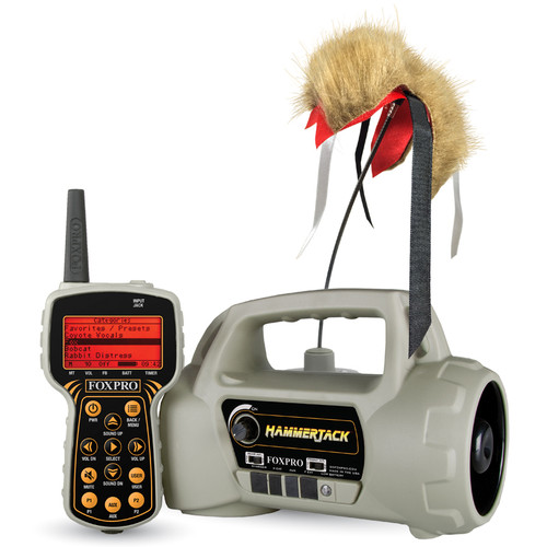 FOXPRO HammerJack Electronic Call with 100 Calls HMRJACK