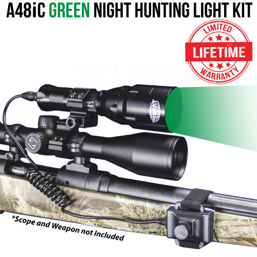 Wicked Lights A48iC Green Night Hunting Light Kit thumbnail