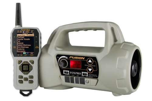 FOXPRO Fusion FACTORY REFURB with 100 Custom Sounds TAN with TX1000 Remote Control