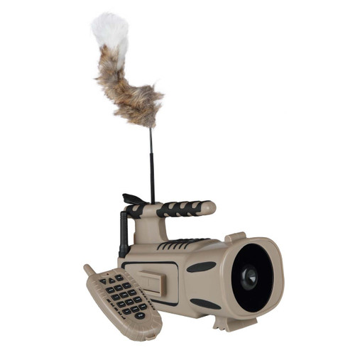 Lucky Duck rebel Digital Remote Controlled Predator Call, with Built-In Motorized Decoy 21-20117-6